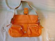 Продам новую яркожёлтую женскую сумочку хороша для лета